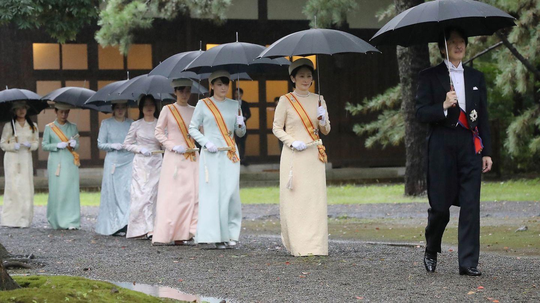 Los príncipes Akishino y Kiko. (Reuters)