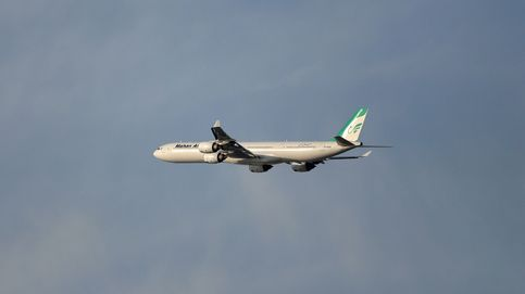Dos cazas acosan a un avión iraní en pleno vuelo y provocan varios heridos