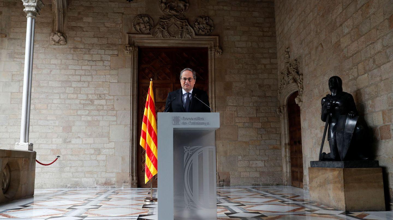 El líder del gobierno de Cataluña, Quim Torra. (Reuters)