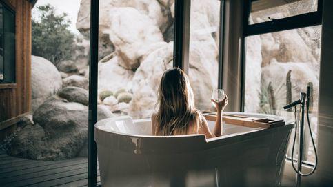 Tu baño puede parecer no solo más grande sino un spa si sumas estos detalles de lujo
