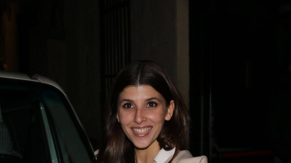 Foto: Mafalda, feliz antes del concierto de ayer. (Lagencia Grosby)