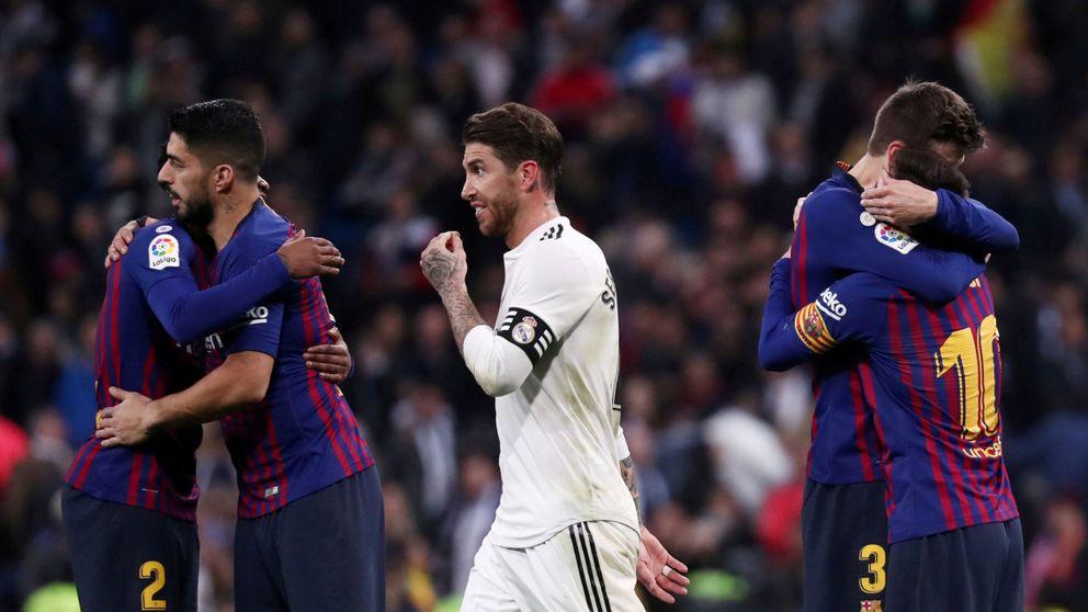 Las risas en el FC Barcelona cuando el Real Madrid cayó... y Sergio Ramos fue expulsado