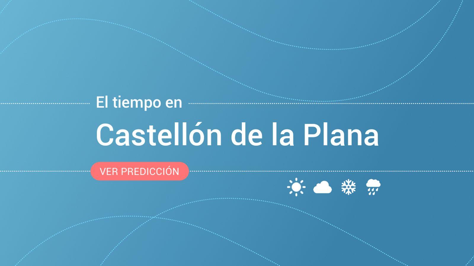 Foto: El tiempo en Castellón de la Plana. (EC)