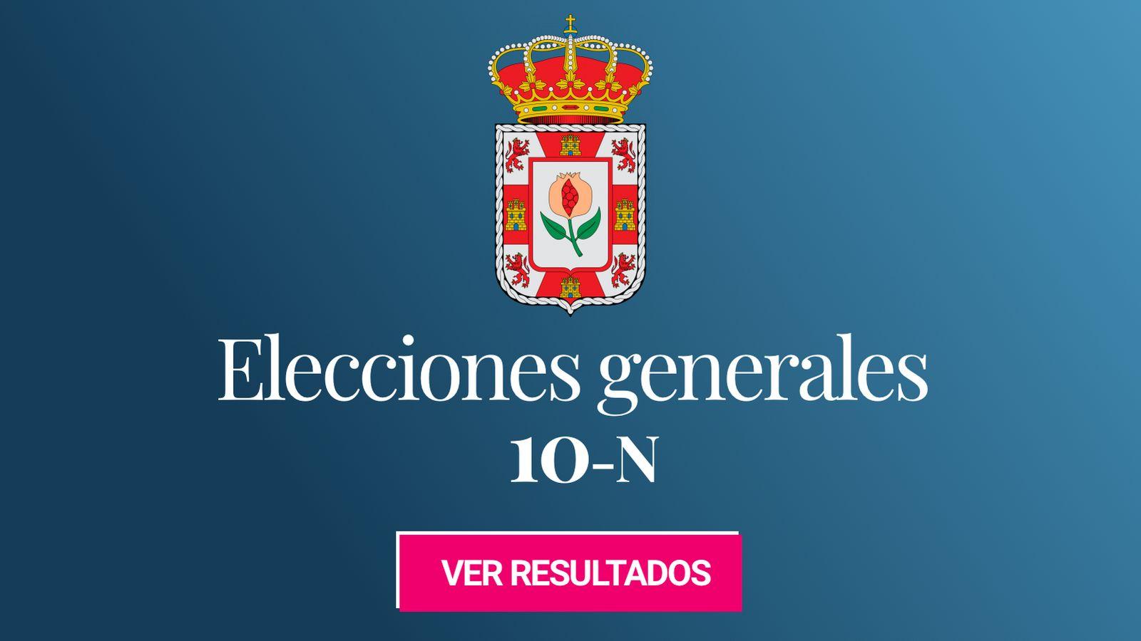 Foto: Elecciones generales 2019 en la provincia de Granada. (C.C./Erlenmeyer)