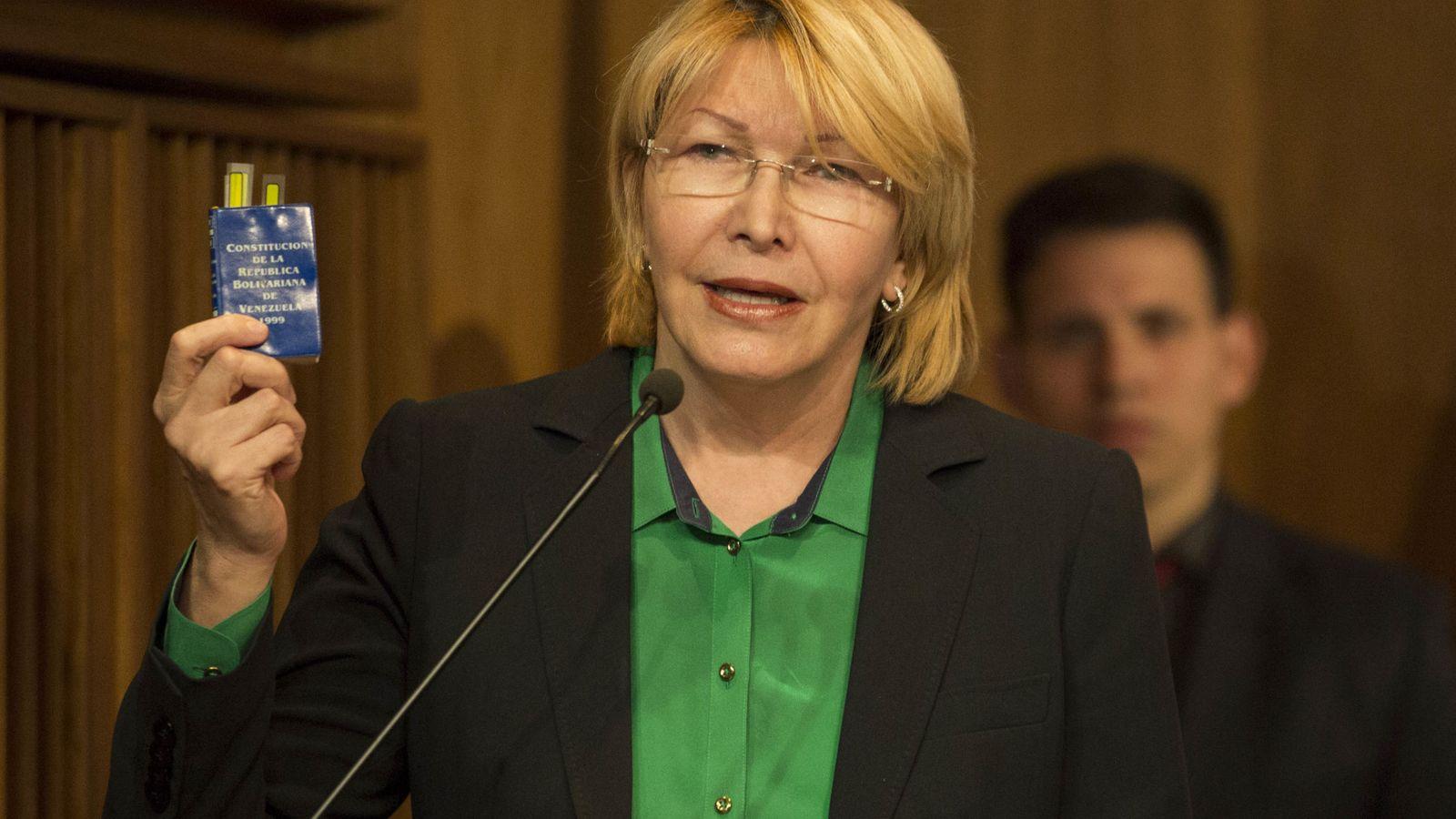 Foto: Luisa Ortega, fiscal de Venezuela (EFE)