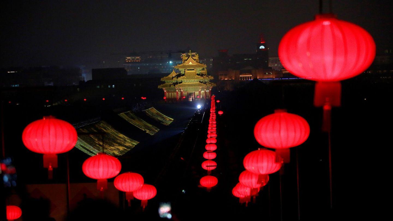 La Ciudad Prohibida, en Pekín. (EFE)