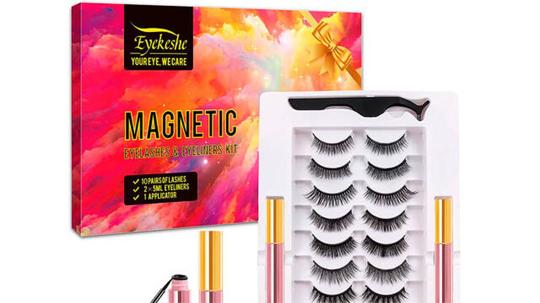 Pestañas magnéticas Eyekeshe reutilizables hasta 30 veces