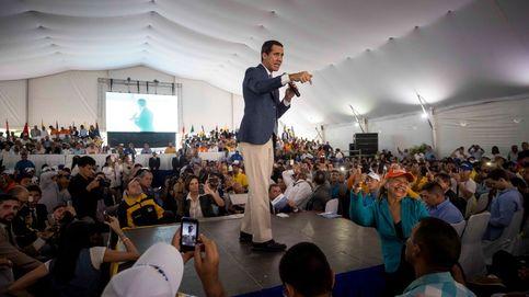 Guaidó, en Caracas