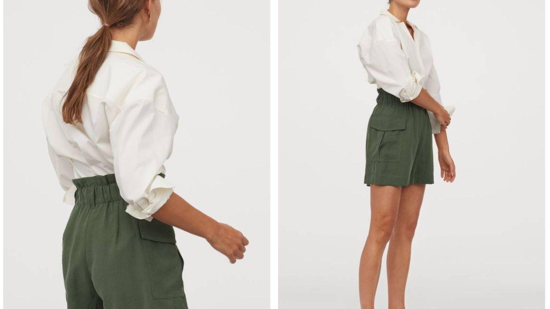 Uno de los shorts de HyM y cuesta 20 euros. (Cortesía)