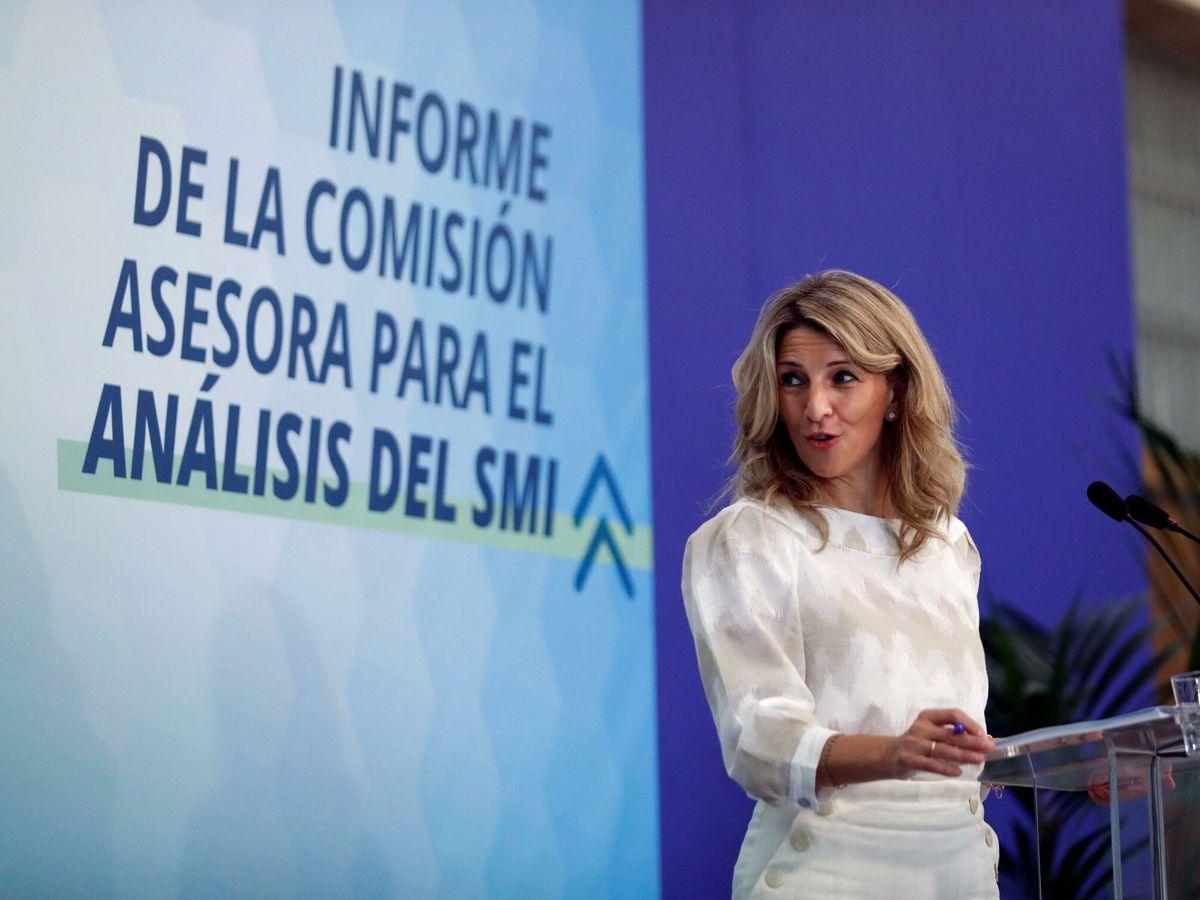 Foto:  La vicepresidenta y ministra de Trabajo, Yolanda Díaz. (EFE)