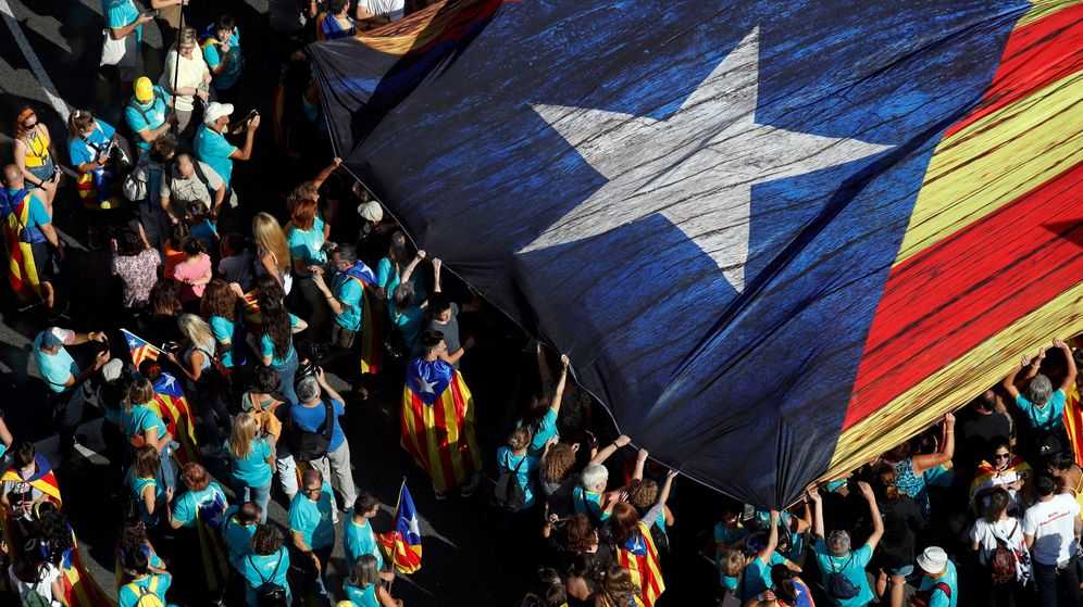 Foto: Manifestación independentista en Barcelona en una imagen de archivo. (Reuters)