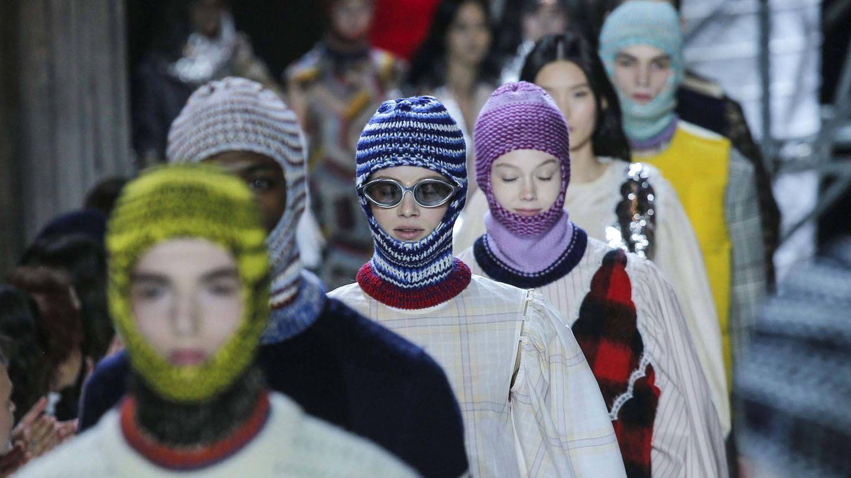 Calvin Klein en la Semana de la Moda de Nueva York. (Getty)