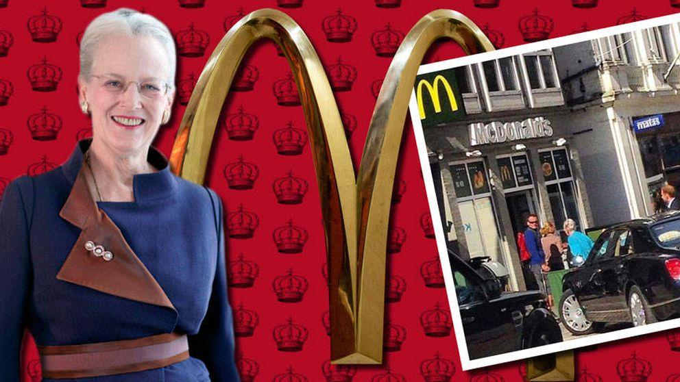 Una reina en el McDonalds: la foto que ha enamorado a los daneses