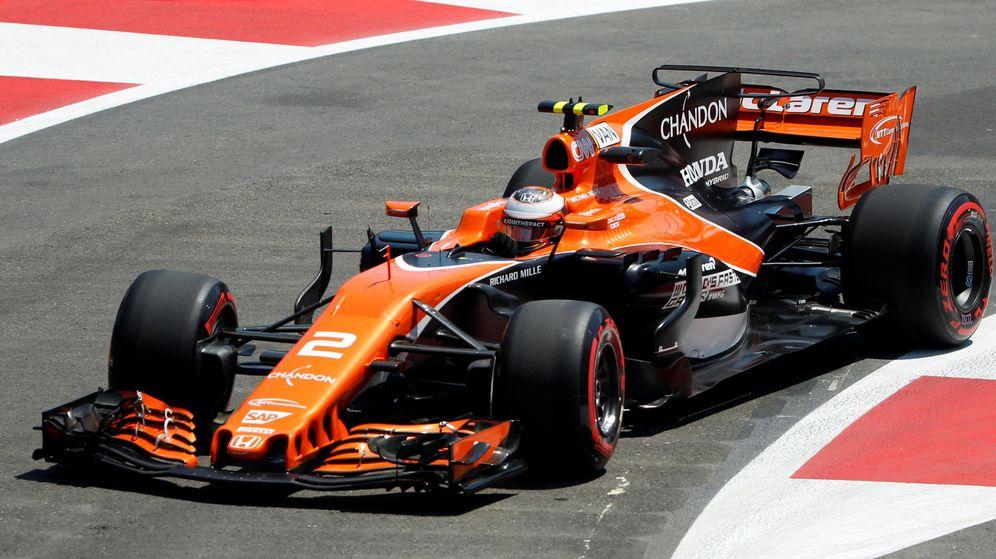 Foto: Stoffel Vandoorne en el McLaren durante esta temporada. (EFE)