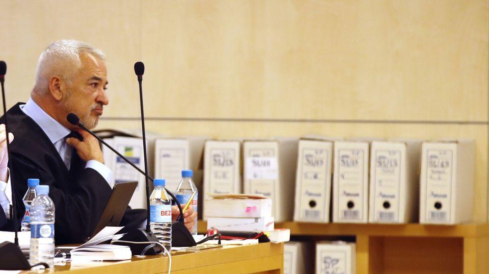 Foto: Luis Pineda en la vista por el caso Ausbanc. (EFE)