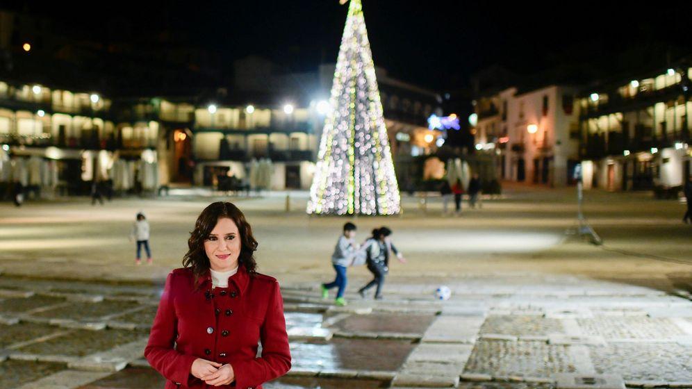 Foto: Fotografía facilitada por la Comunidad de Madrid de la presidenta regional, Isabel Díaz Ayuso. (EFE)