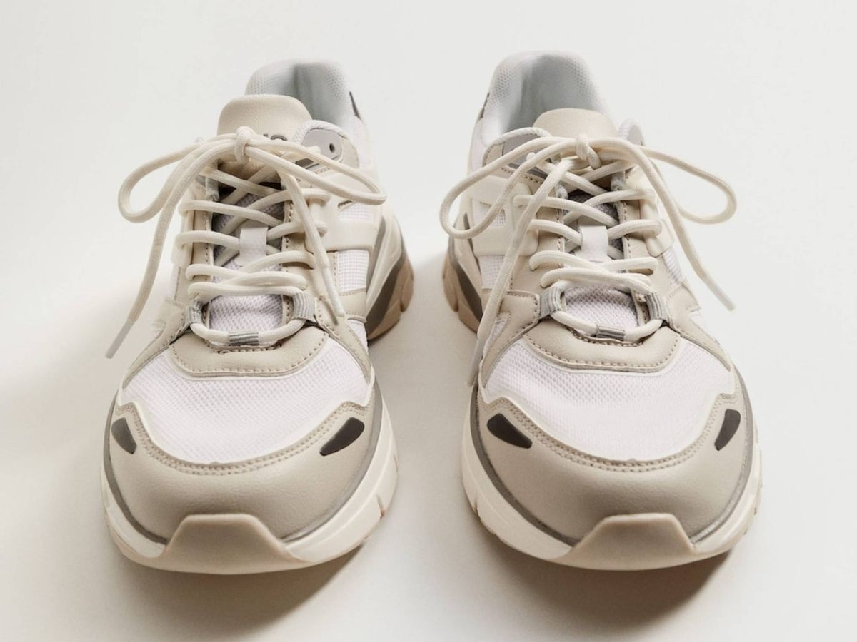 Foto: Las zapatillas deportivas de Mango. (Cortesía)