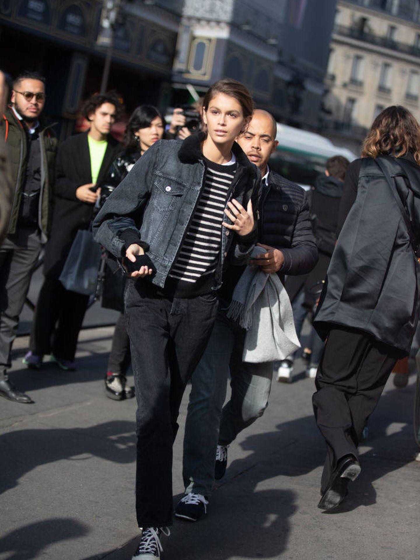 De nuevo, street style de la Paris Fashion Week Womenswear Spring/Summer.  (Getty)