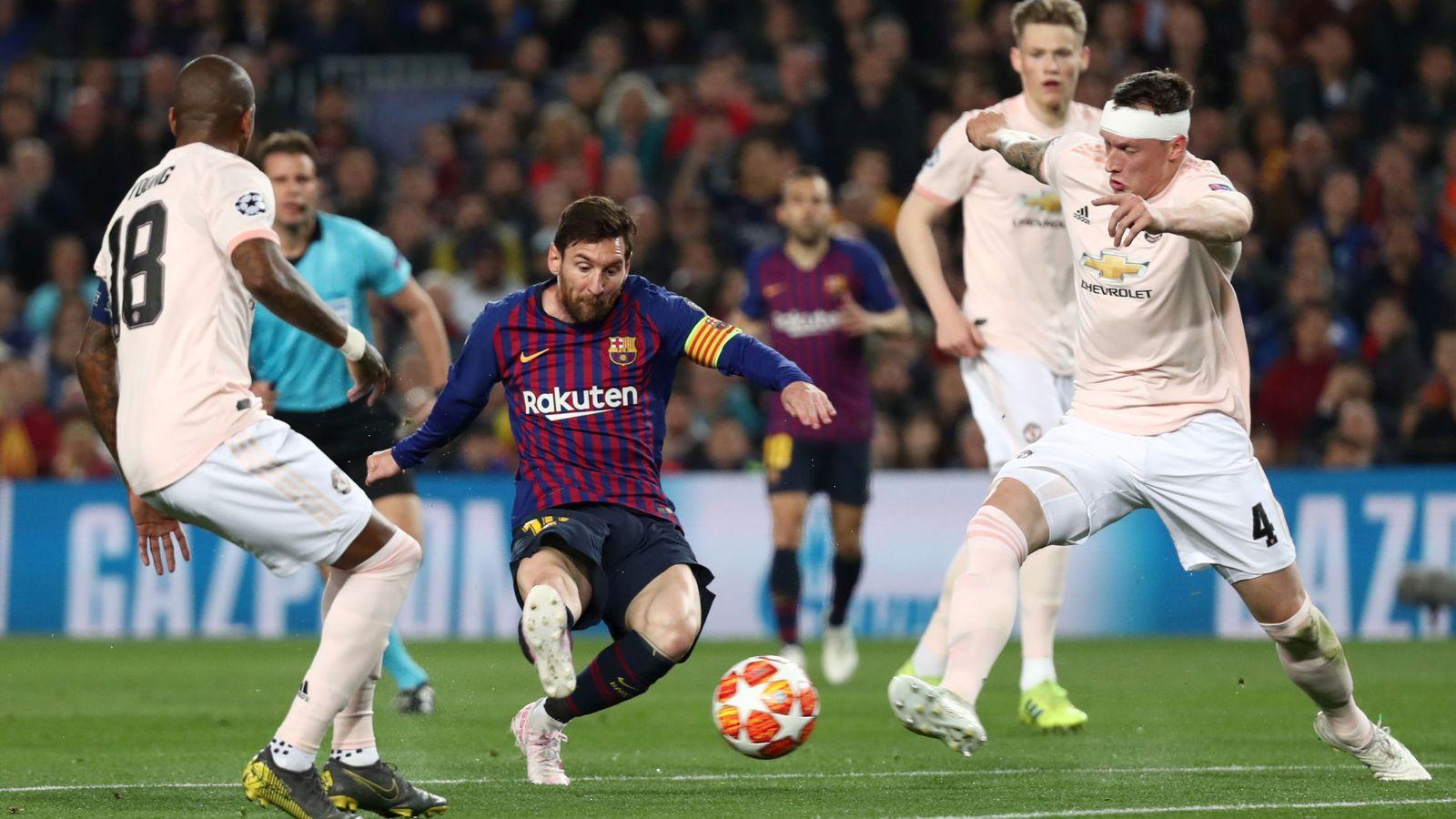 Foto: Champions league quarter final second leg - fc barcelona v manchester united