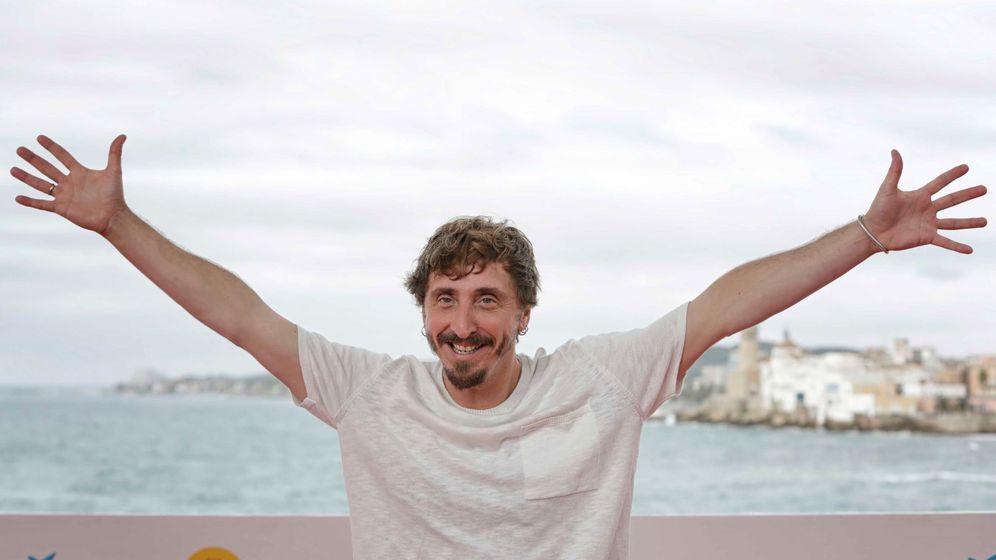 Foto:  El actor Ivan Massagué, posa para los medios durante la presentación de El hoyo. (EFE)