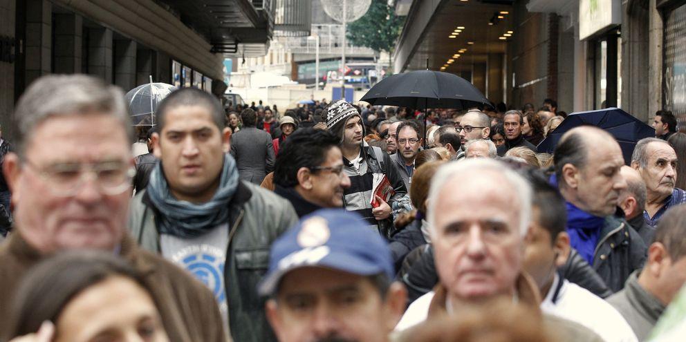 Foto: Riadas de gente en Madrid (Reuters)