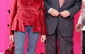 Henar Ortiz, tía de la princesa de Asturias, y Jaime Peñafiel coinciden en la misma fiesta