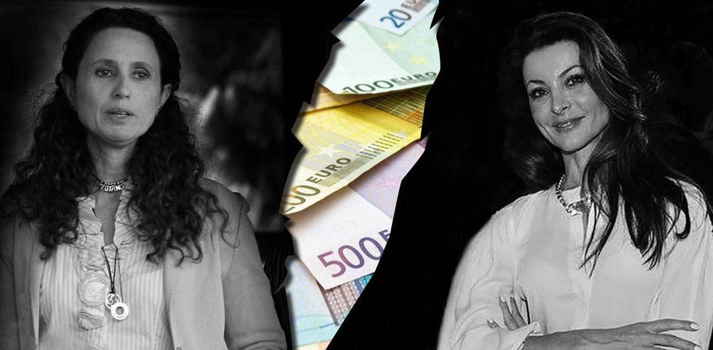 Foto: Yolanda García Cereceda y Silvia Gómez-Cuétara en un fotomontaje de Vanitatis