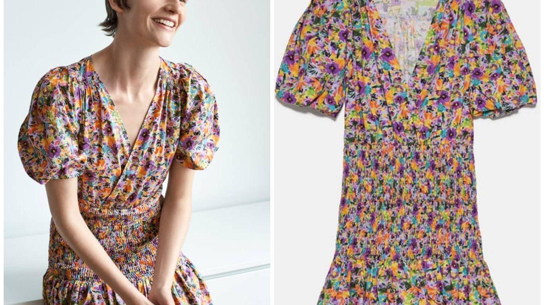 Nuevo vestido de Zara. (Cortesía)