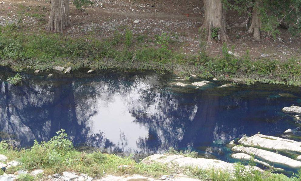 Foto: Una empresa española evita que se tiñan de azul pitufo los ríos de China