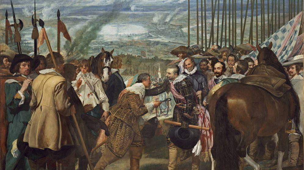 Foto: 'La rendición de Breda' de Diego de Velázquez.