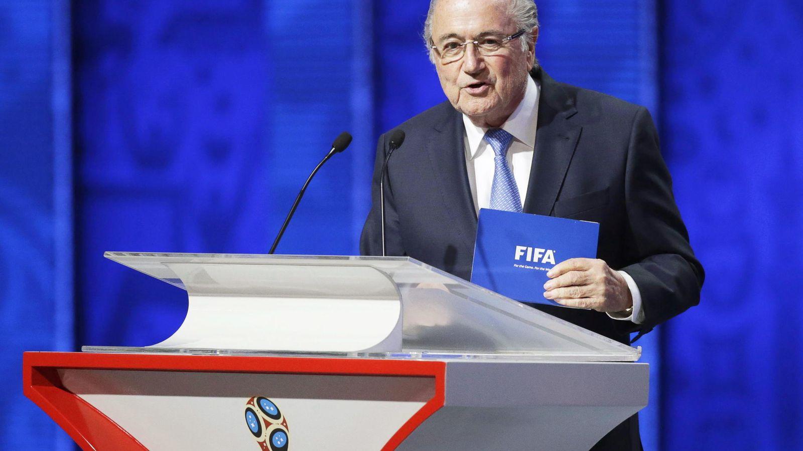 Foto: Blatter ha sido interrogado en la sede la FIFA en zúrich (Reuters)