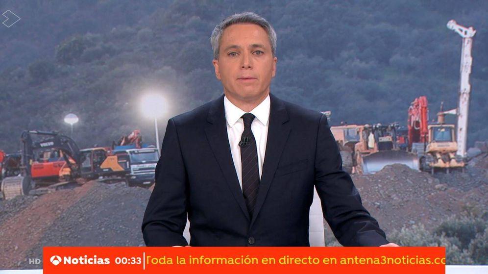 Foto: Vicente Vallés, en el especial informativo de 'A3N'. (Atresmedia)