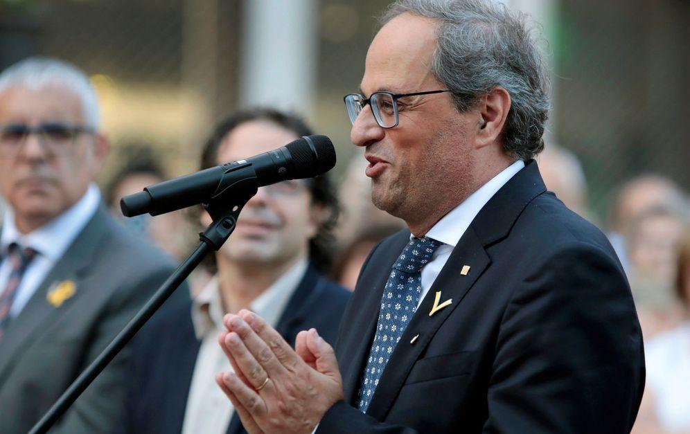 Foto: Quim Torra asegura que no aceptará un referéndum de autogobierno. (EFE)