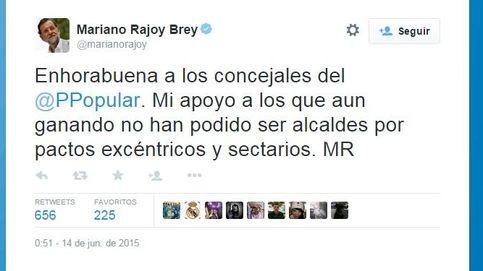 Rajoy: ha habido pactos excéntricos y sectarios que impiden alcaldes del PP