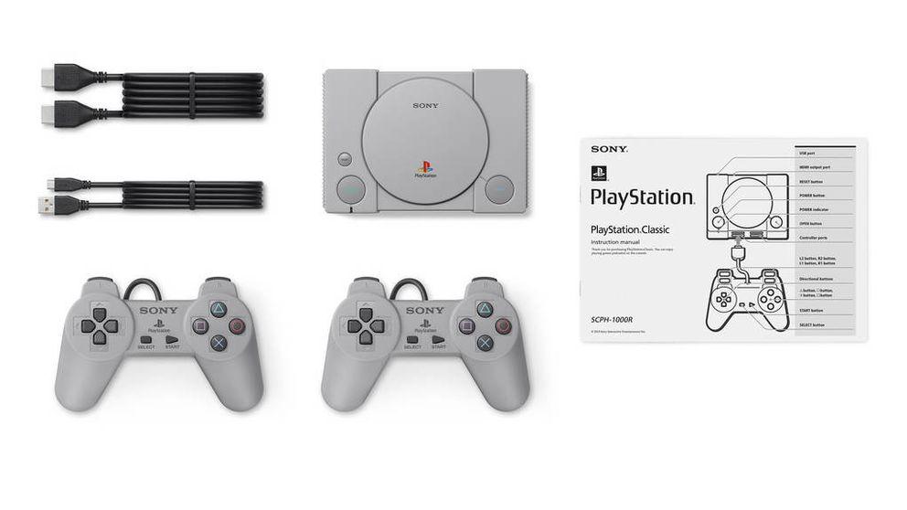 PlayStation Classic: Sony resucita el negocio de la nostalgia lanzando una consola retro
