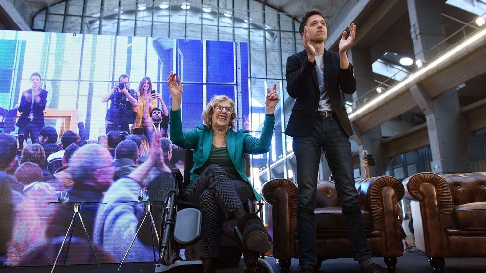 La Junta Electoral Central permite ahora debates a Carmena pero no a Errejón
