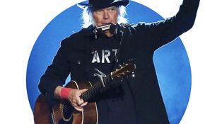 El calentón de Neil Young contra la casta