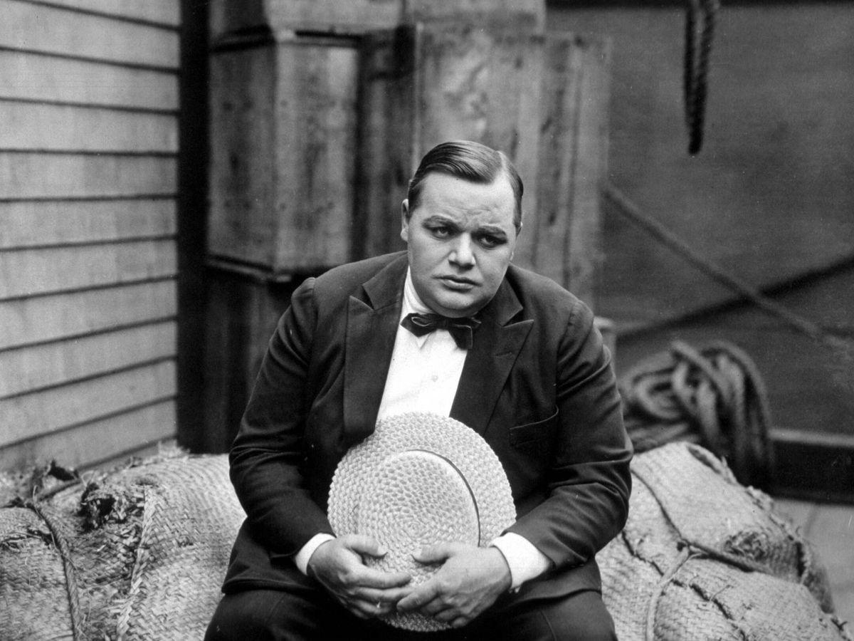 Foto: Roscoe 'Fatty' Arbuckle, en una imagen de archivo. (CP)