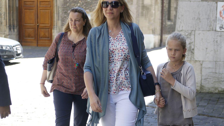 Foto: Cristina de Borbón Dos Sicilias junto a su prima la infanta Cristina (Gtres)