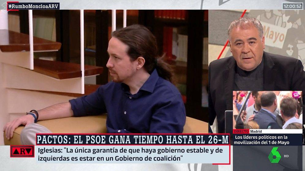 Foto: Antonio García Ferreras, en 'Al rojo vivo'. (La Sexta)