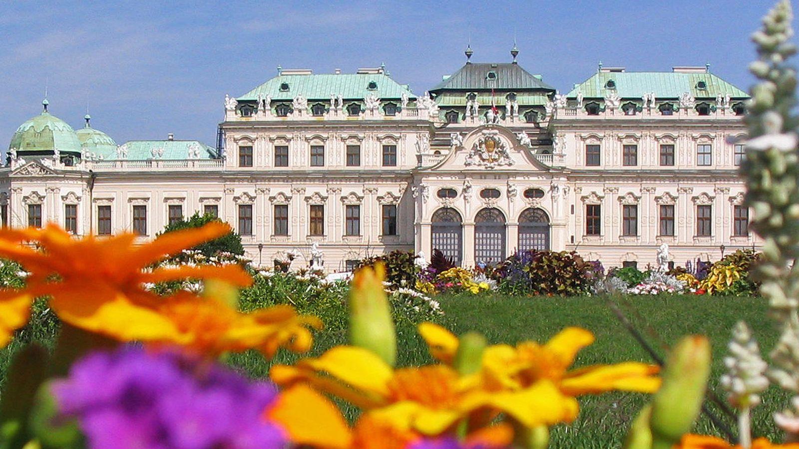 Foto: Castillo de Belvedere, en Viena (Flickr/Ashitaka San)