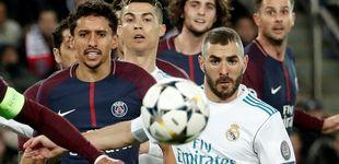 Post de Zidane protege a un Benzema que desespera a Florentino y a la grada del Madrid