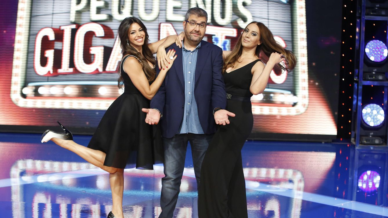 Foto: Marbelys Zamora, Florentino Fernández y Mónica Naranjo en una imagen de 'Pequeños Gigantes'