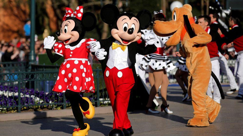 Foto: Mickey Mouse y compañía apuestan por los veganos para sus parques (Reuters/Benoit Tessier)