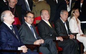 El Rey y el conde de Godó, en la entrega del premio Conde de Barcelona