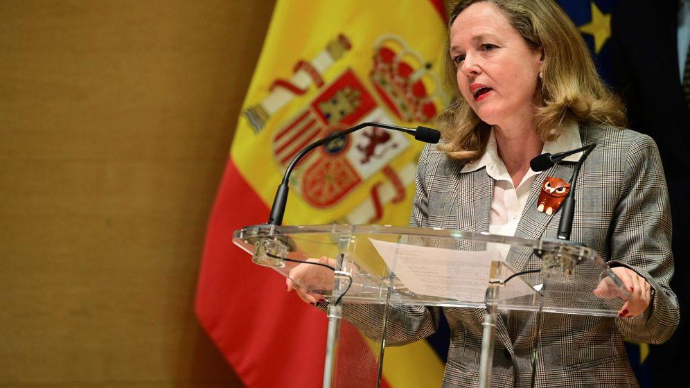 Foto: La vicepresidenta y ministra de Asuntos Económicos y Transformación Digital, Nadia Calviño. (EFE)