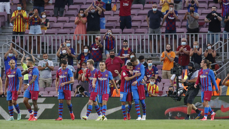 El FC Barcelona, uno de los equipos que más necesita la vuelta total del público a los estadios. (EFE)