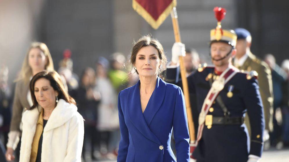 Foto:  La reina Letizia, en la Pascua Militar. (Limited Pictures)
