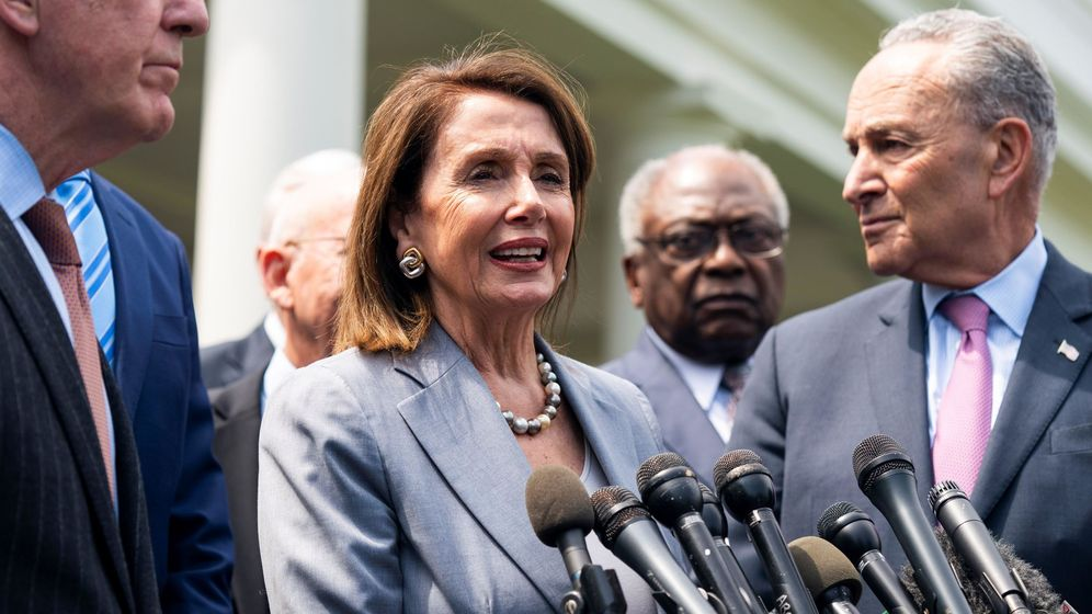 Foto: Nancy Pelosi y Chuck Schumer. (EFE)