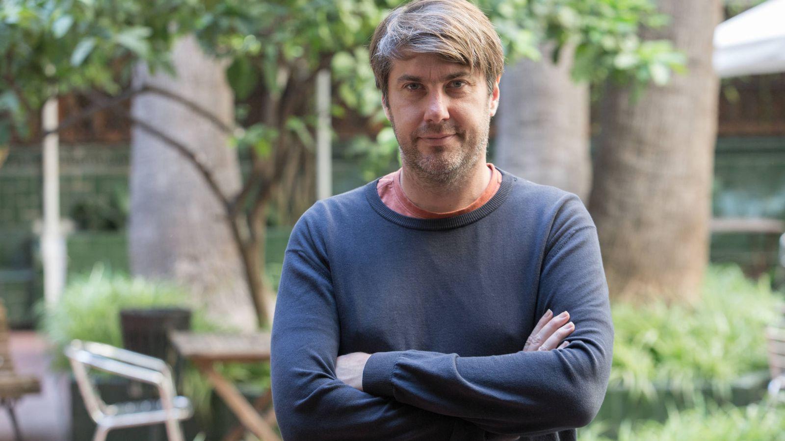 Foto: El filósofo Bernat de Dedéu, esta semana en Barcelona. (David Brunat)
